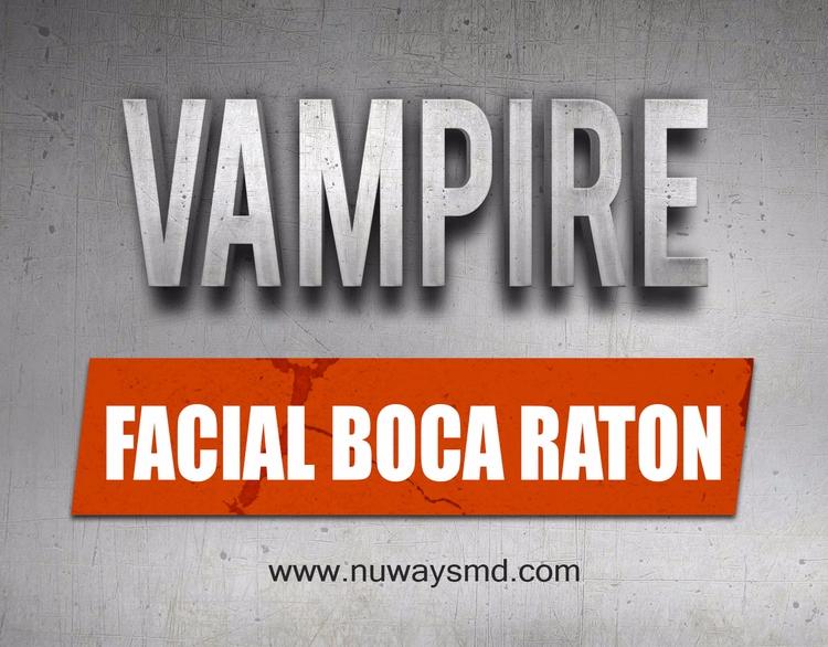 Website: Vampire Facial Boca Ra - vampirefacialmiami | ello