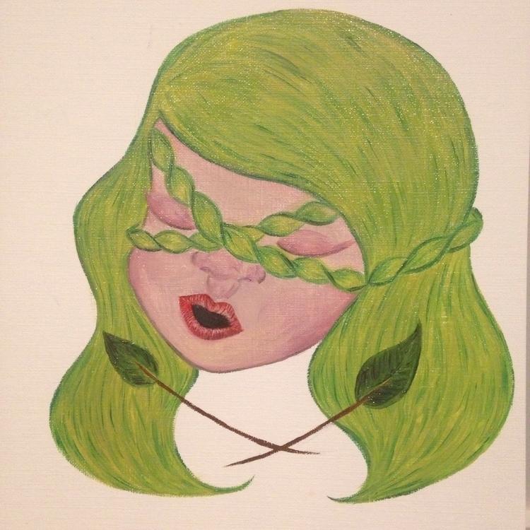 Mask Insecurities - Oil Paintin - ztephyr   ello