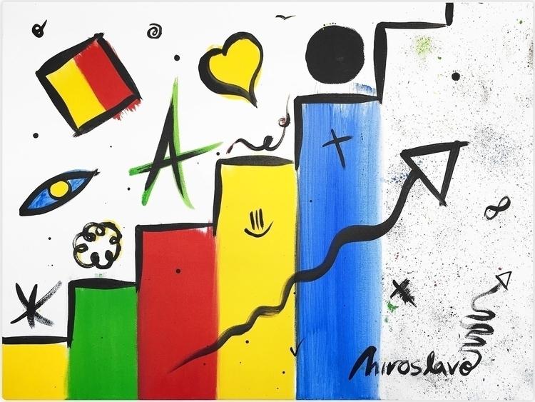 painting: Progress (2017). Stat - miroslavo | ello