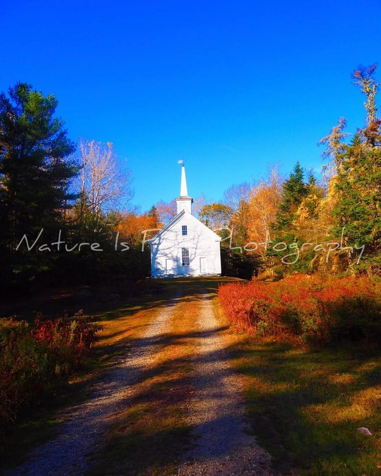 South Cushing Baptist Church ~  - natureisfree | ello