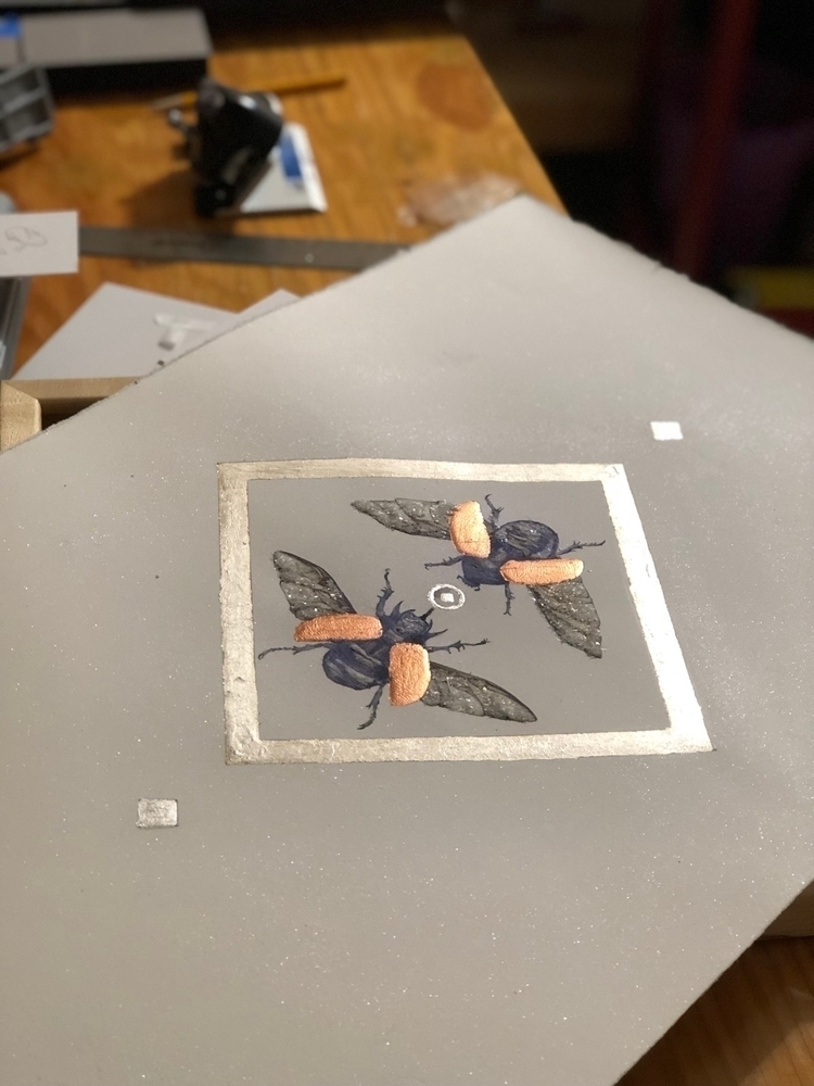 love metal leaf pops - silver, copper - alexakarabin | ello