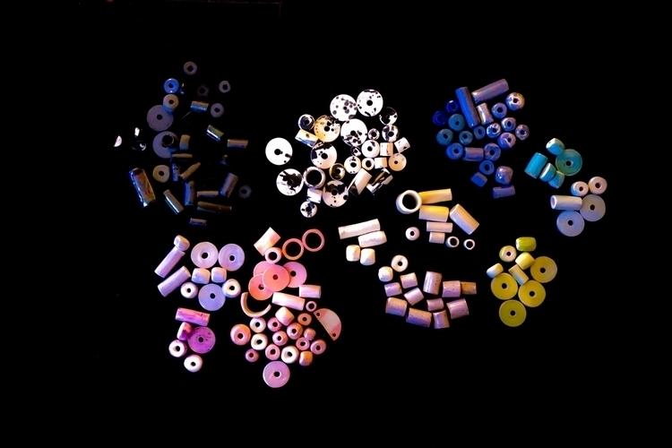 Porcelain clay beads color litt - littleclaystudio | ello