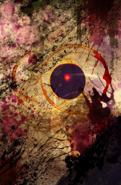 iphone collage 3 - purple sun - art - natalieraymond | ello