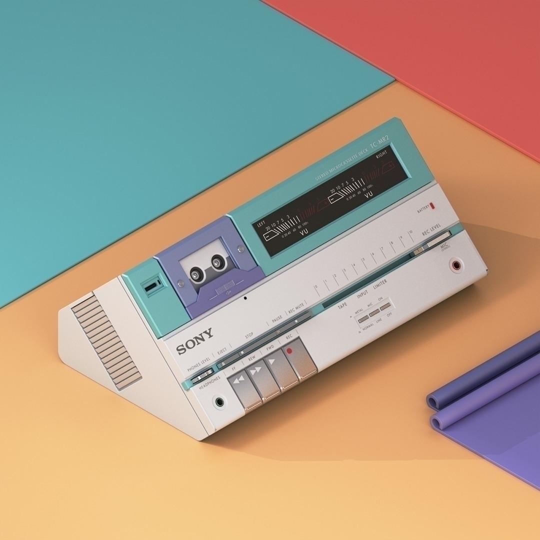 3D Modeled Synthesizers Audio E - ericsmilde | ello