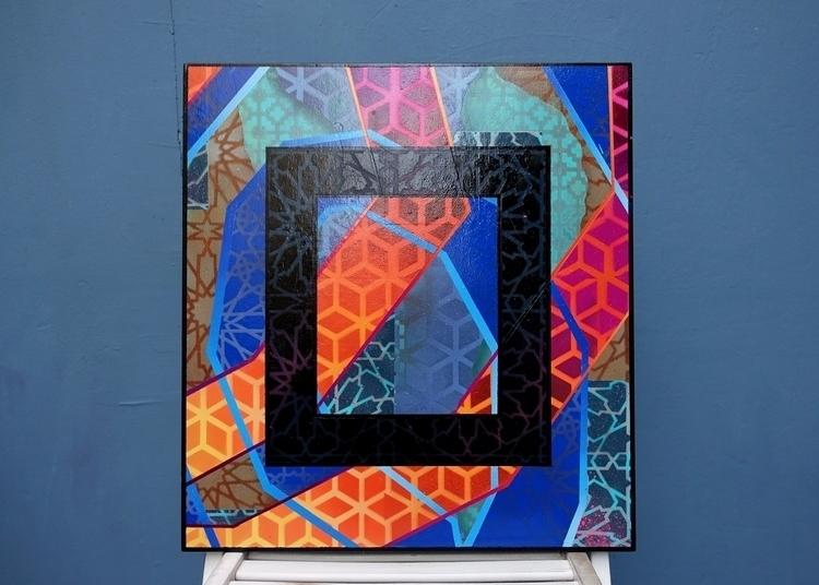 Untitled. Experiments stencils  - wert159 | ello