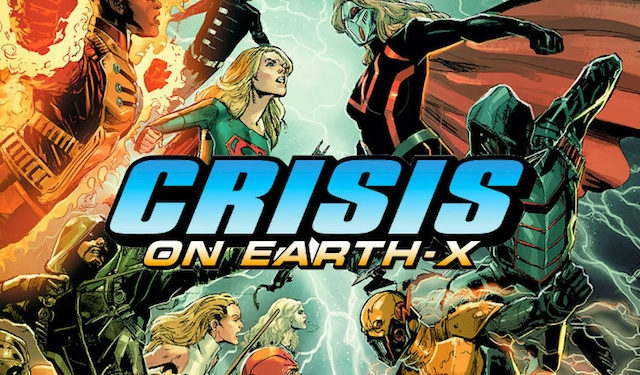 CrisisonEarthX, Arrow, Supergirl - glennwalker1 | ello