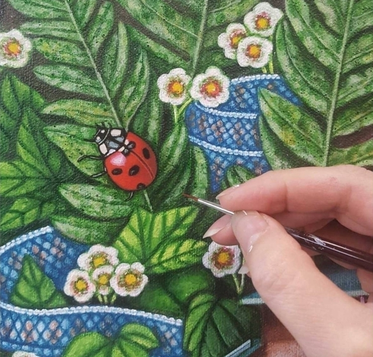favourite insects ladybug beetl - brandymasch | ello