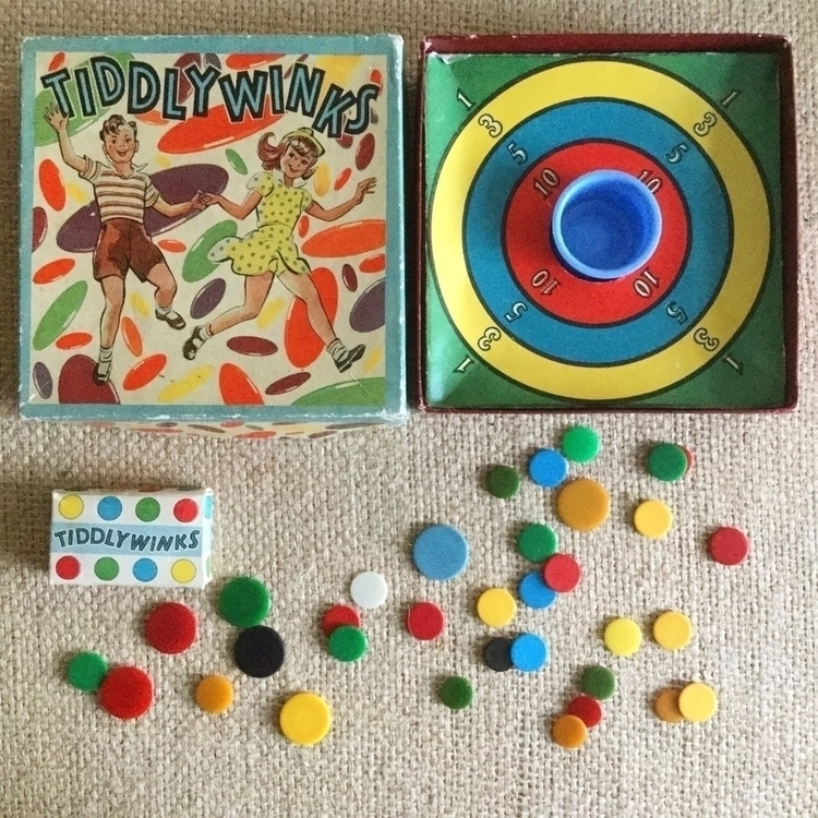 Tiddlywinks Champion? :scissors - arnolds-attic | ello