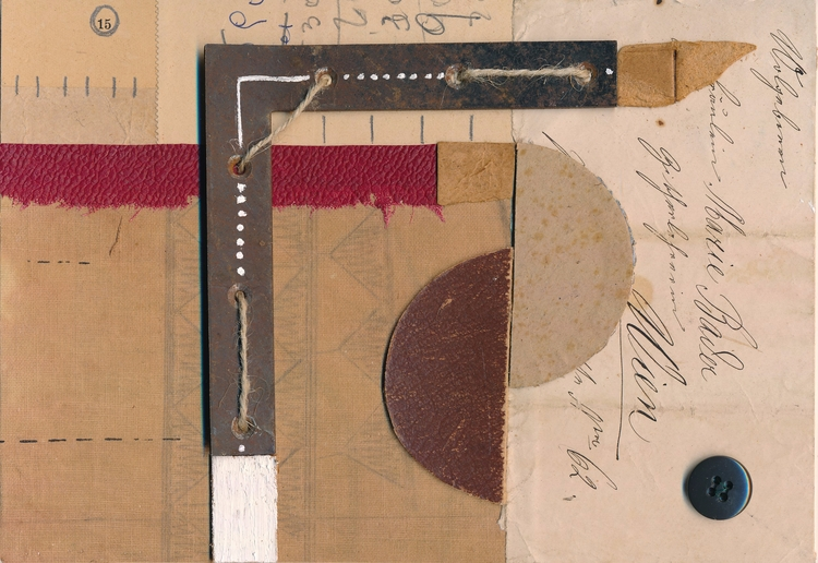 part Kurt Schwitters project - kurtschwitters - papiergedanken-collage-art | ello