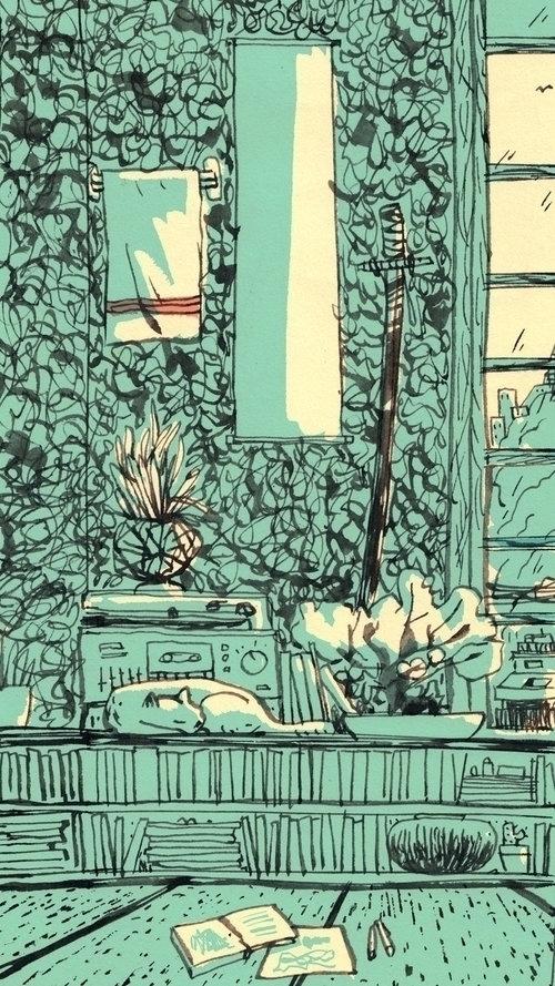 Part Tokyo Interiors Series, or - luismendo | ello