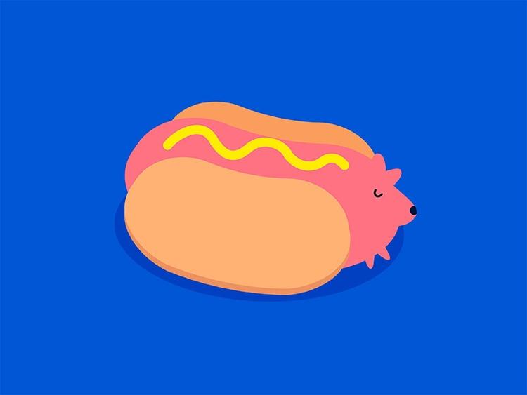halloweenie - hotdog, halloween - ngaiyt | ello