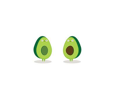 avocado, food, illustration - ngaiyt | ello