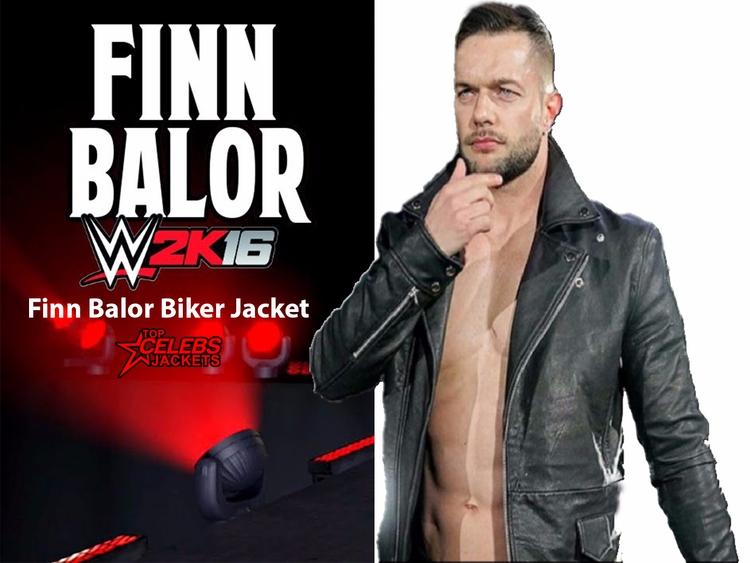 Finn Balor Biker Jacket - alinaamy | ello