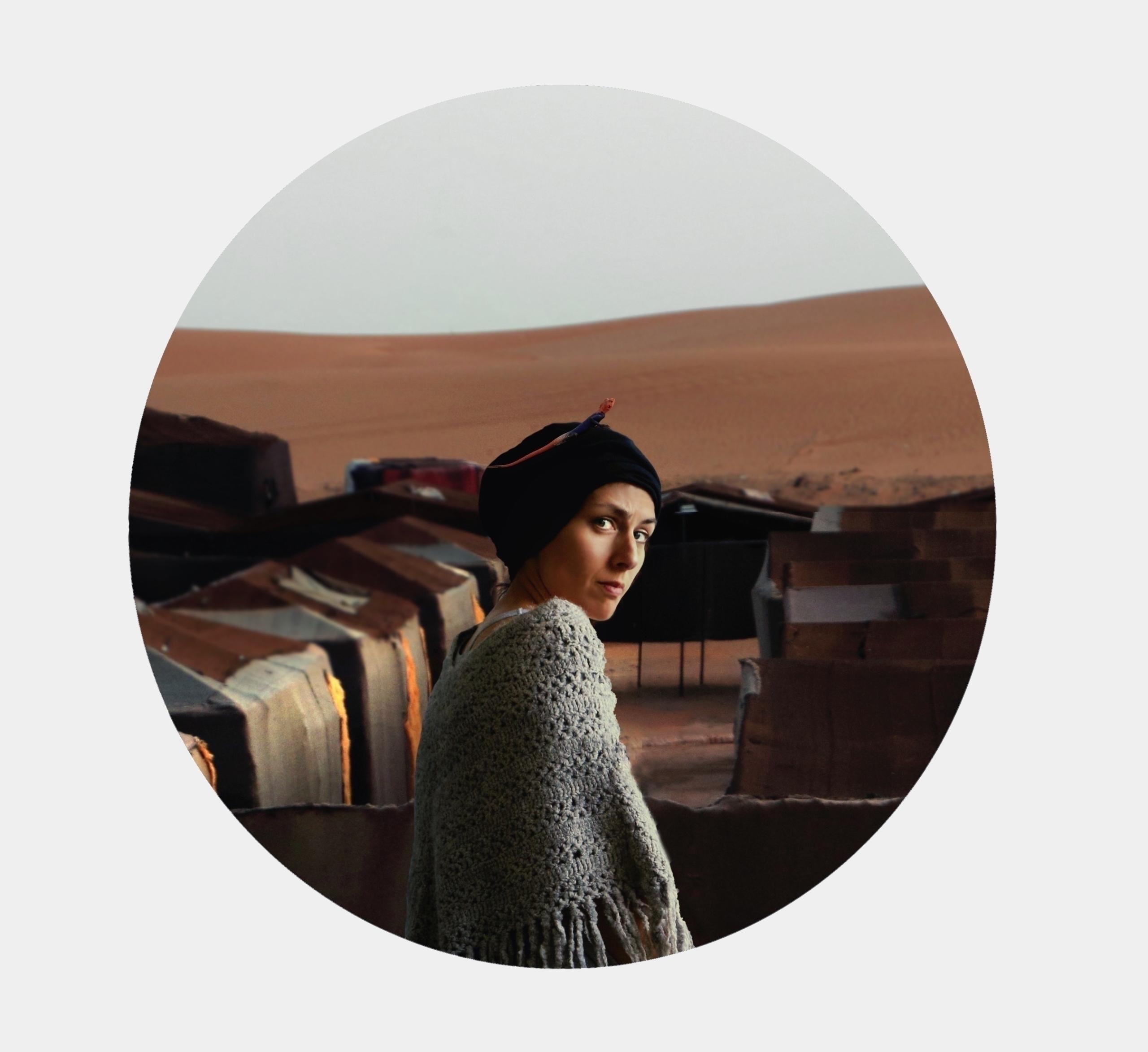 Portrait woman lizard (2017 - woman_portrait - montserratdiaz   ello