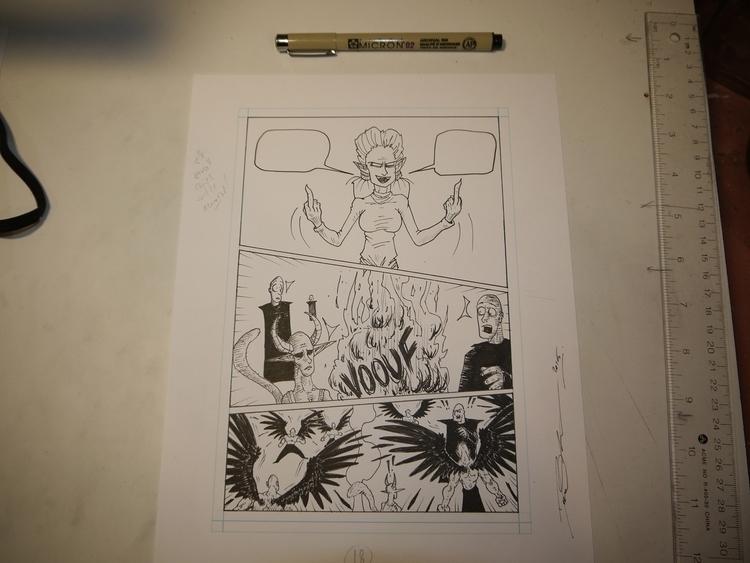 DAVID THERRIEN ORIGINAL ART, Ma - davestudio | ello