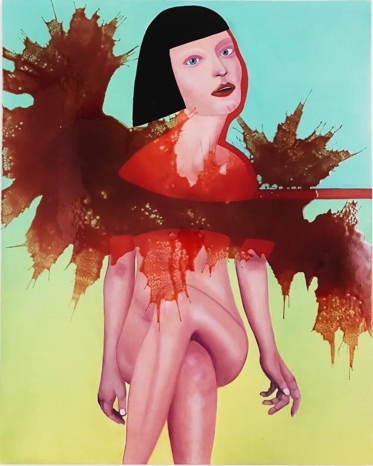 art, contemporary, painting, canvas - liquasar | ello
