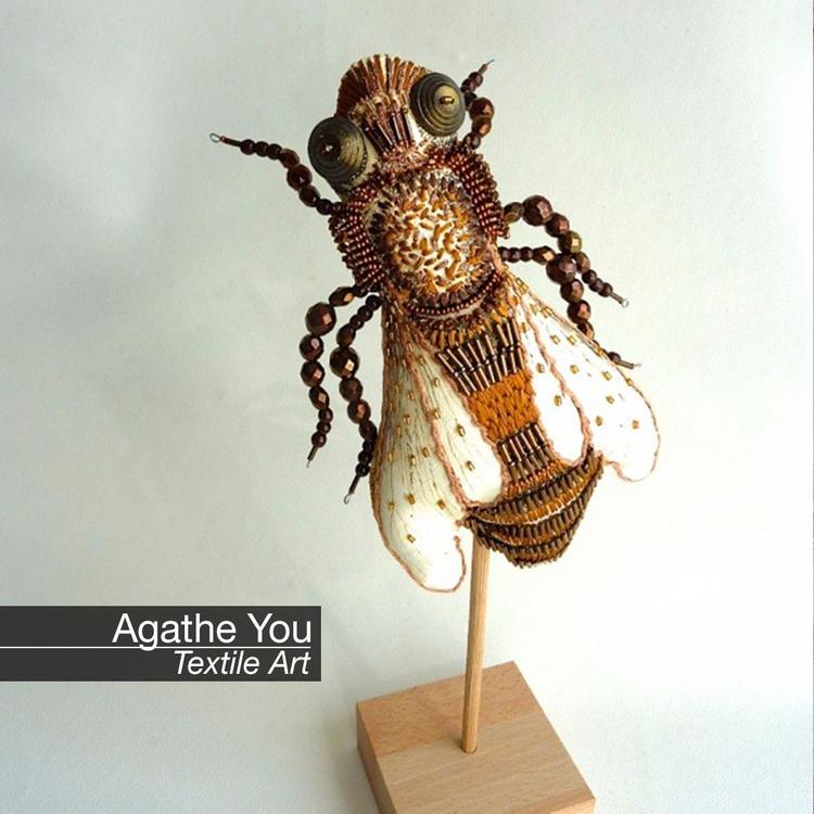 Discover Textile Art Agathe La  - velvetandpurple | ello