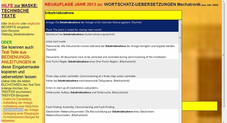 German English Translation: tec - mechatronik-lehrmittel-wagner | ello