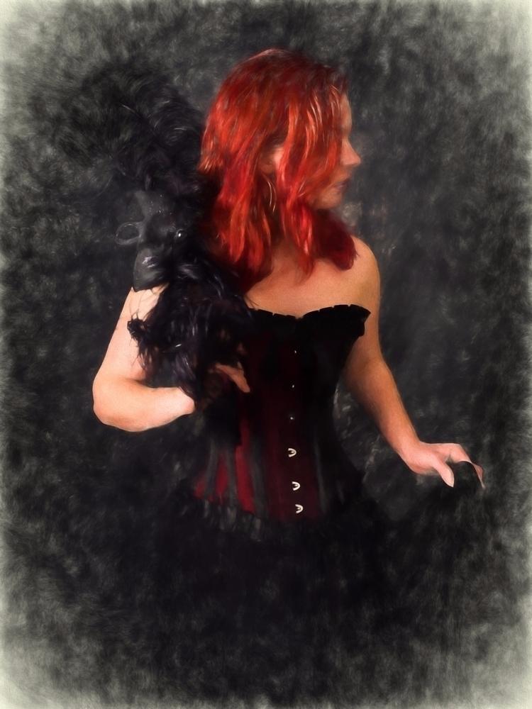 blackandred, redhead, sultry - akinokitsune | ello
