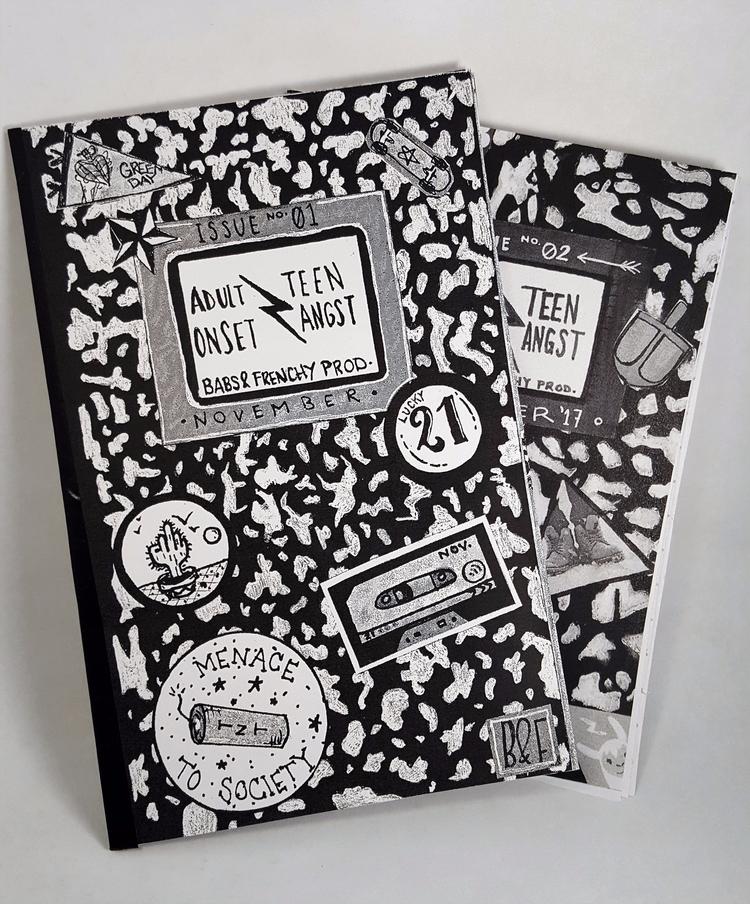 Issue 12 bundle purchase - zine - babsandfrenchprod | ello