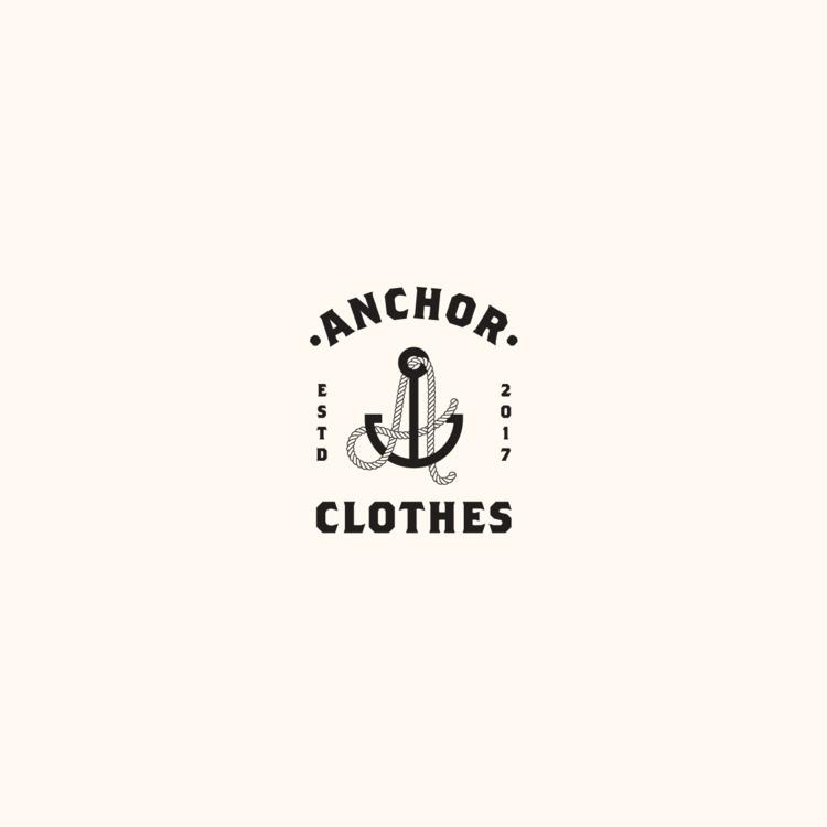 Logo design Anchor clothing lin - jessepyysalo | ello