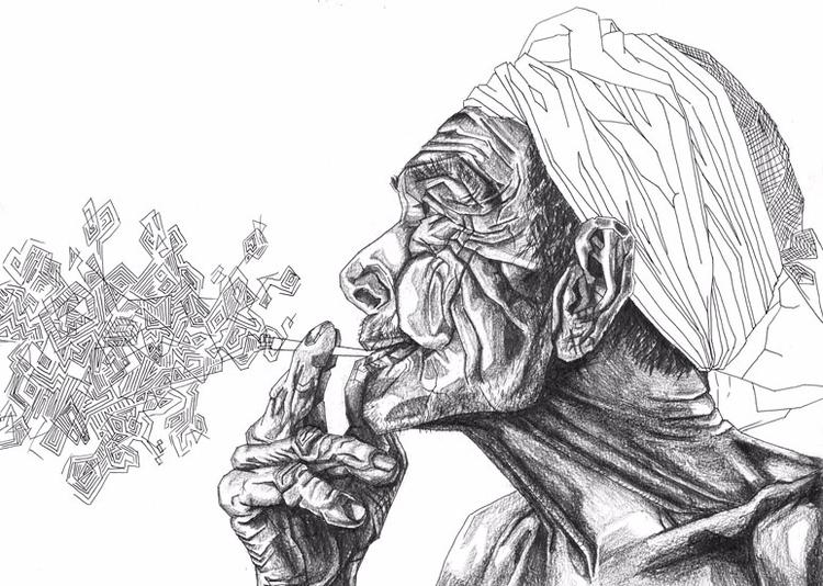 Geometric Smoker Lara Mesanza B - laramesanzaburke | ello