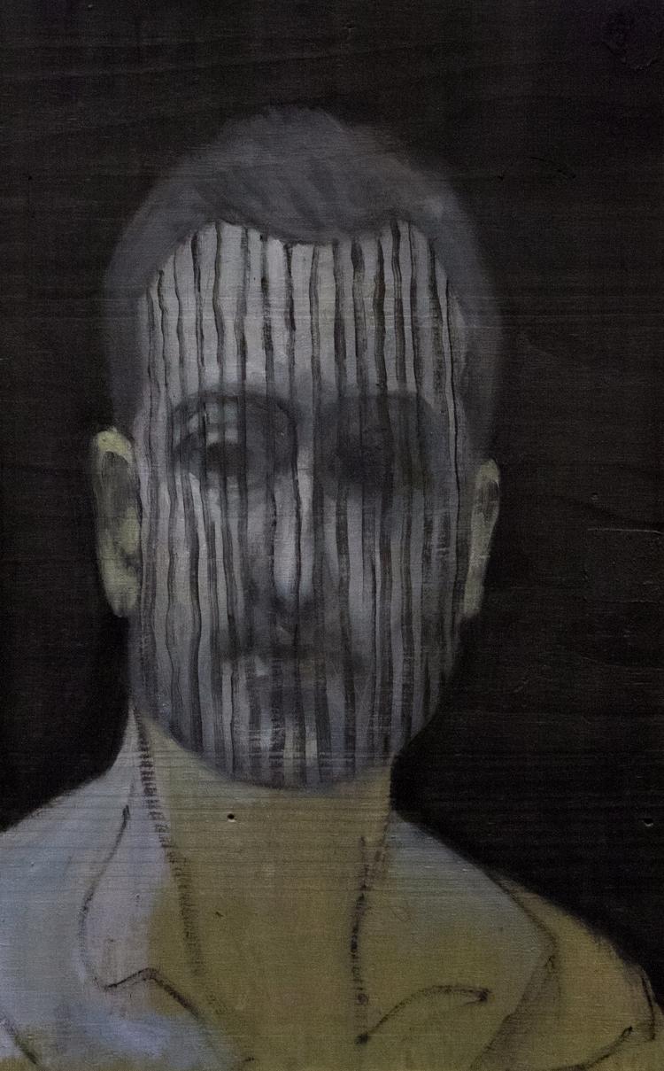 Tacit Portrait) / Oil Wood 28.5 - armandocabba | ello