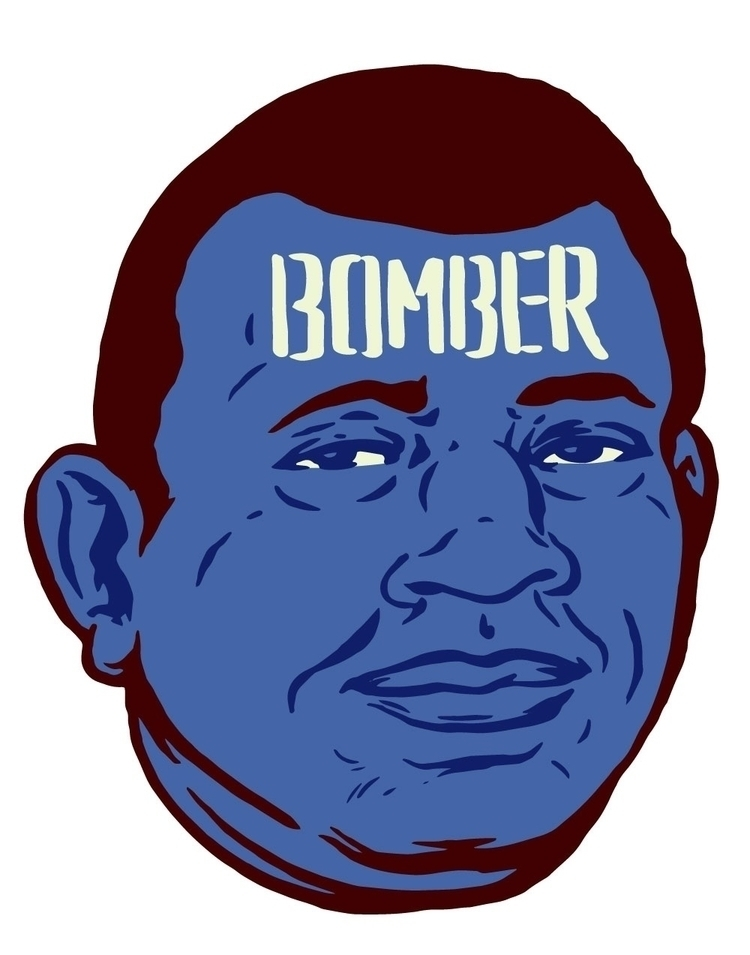 Bomber - illustration, Philly - thomcat23 | ello