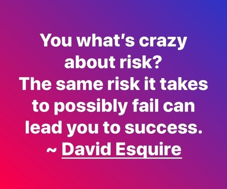 crazy risk? risk takes possibly - esquirephotography | ello
