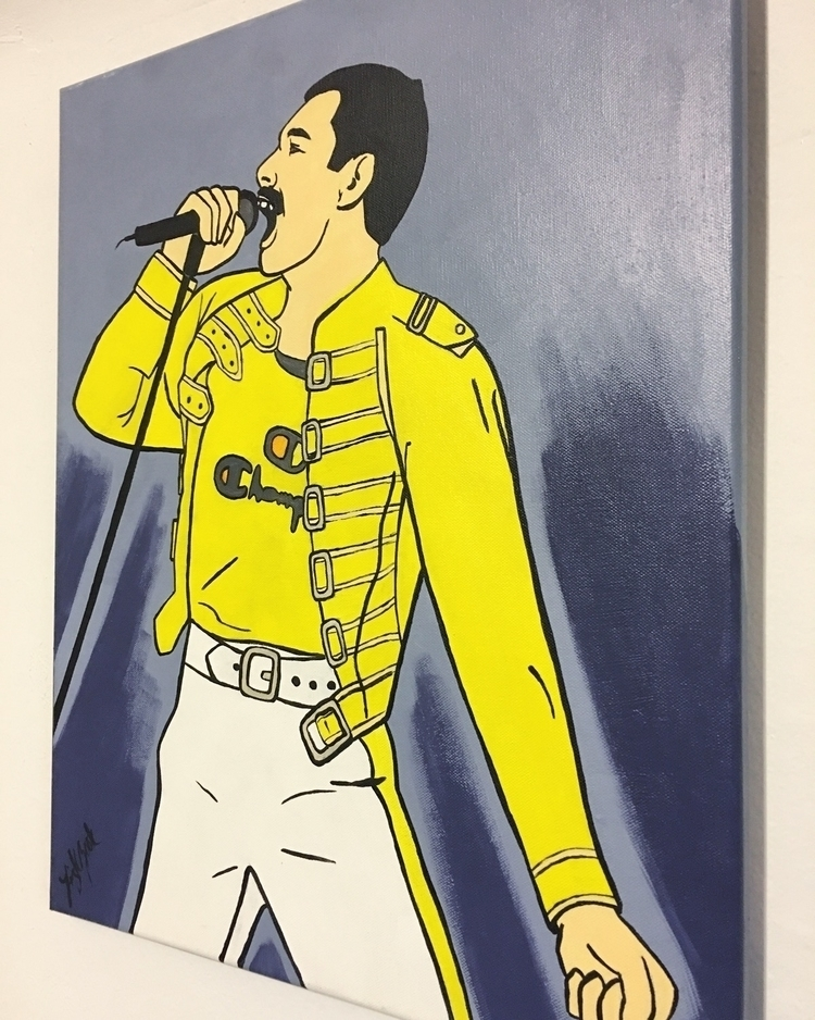 added depth Freddie Mercury. li - lizkellyzook | ello