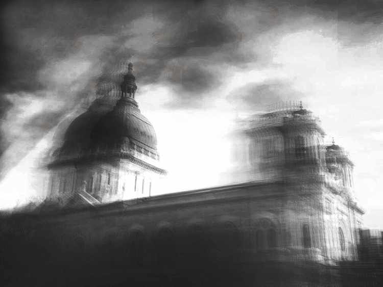 noir, BW, monochrome, blur, church - akjphotography | ello
