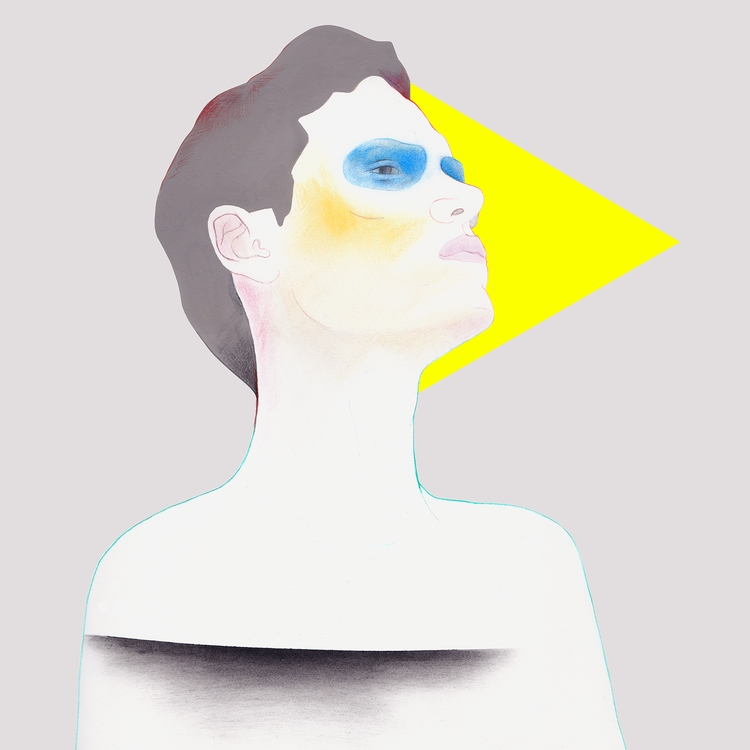 Portrait Mixed media fabriano - janbrauer | ello