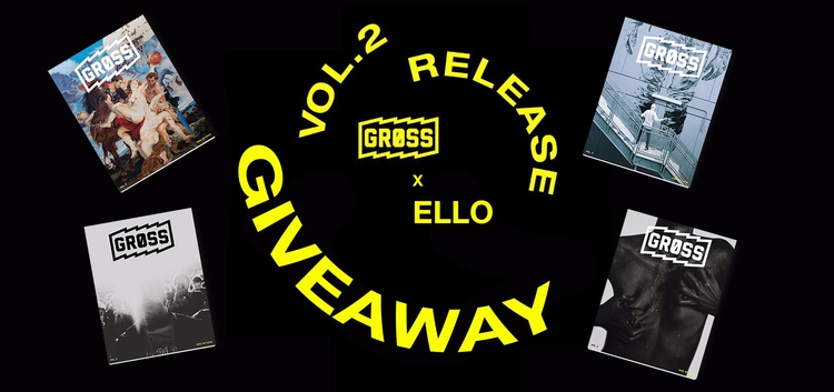 HOLY SMOKES, GRØSS GIVEAWAY! ga - gross_mag | ello
