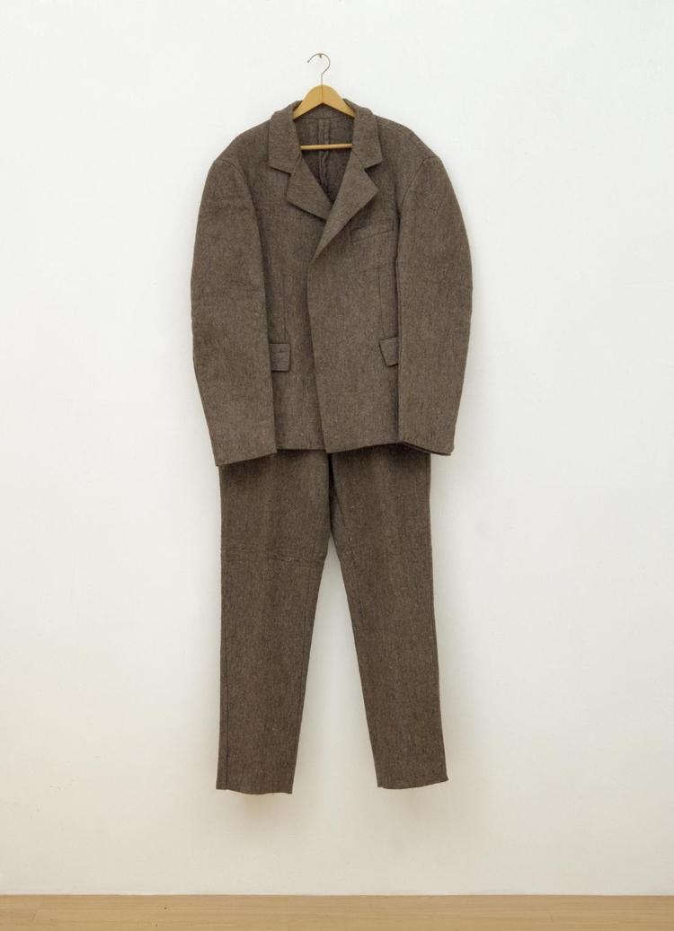 Joseph Beuys, Felt Suit, 1970 A - ellodadaism   ello