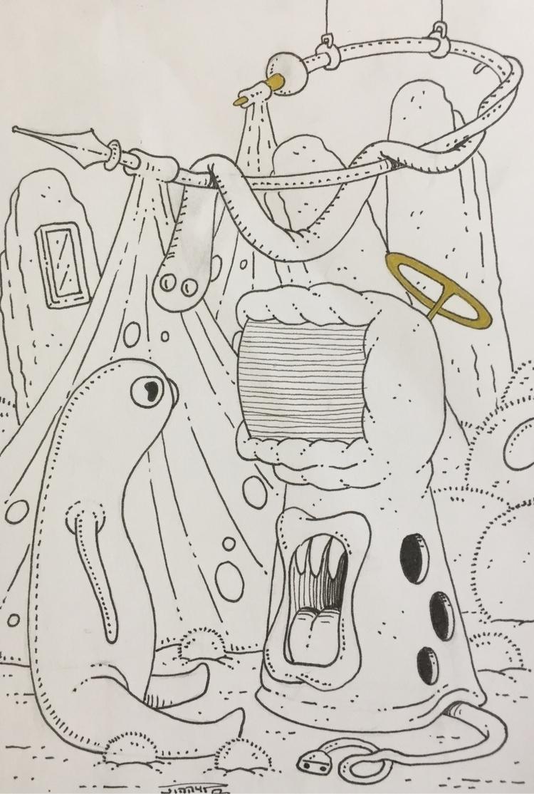 illustration, art, drawing, religion - jimmy-draws | ello