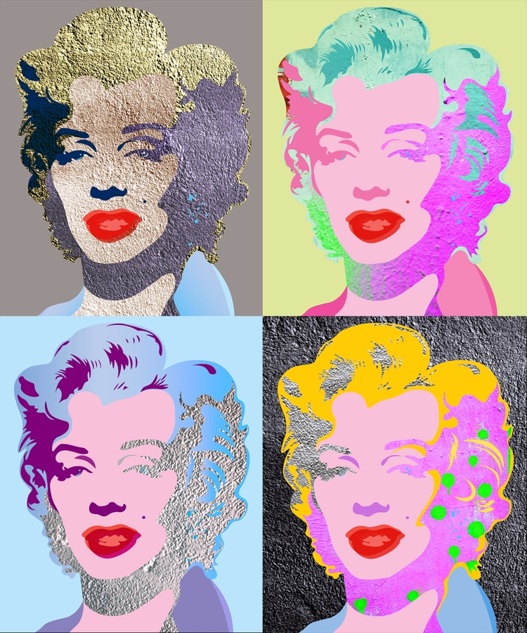 Marilyn Wall Collection N7-8-9 - sandromartini | ello