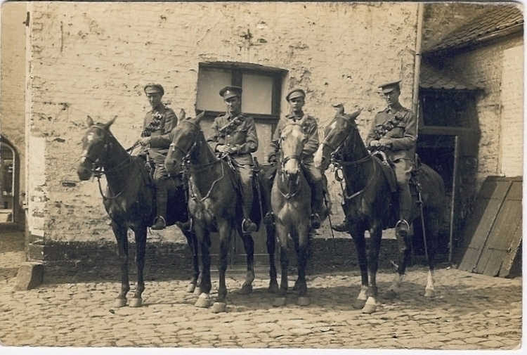 WW1 Yeoman France horseback. me - markmck | ello