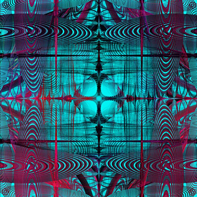 eye contact / 171206 - digital, abstract - alexmclaren | ello