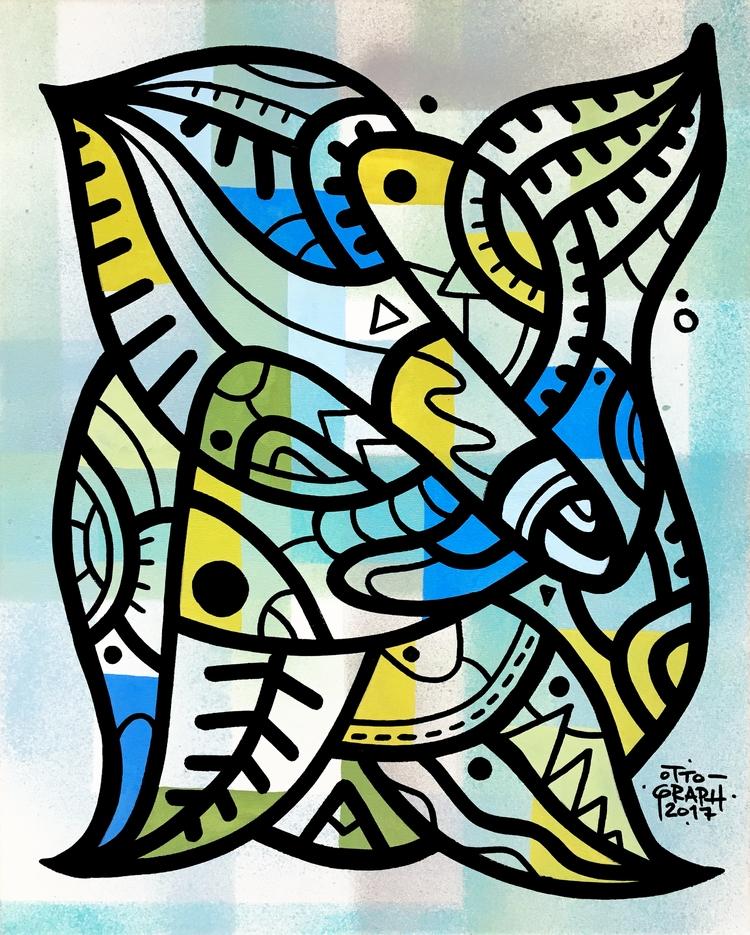 ottograph painting - kush acryl - ottograph | ello
