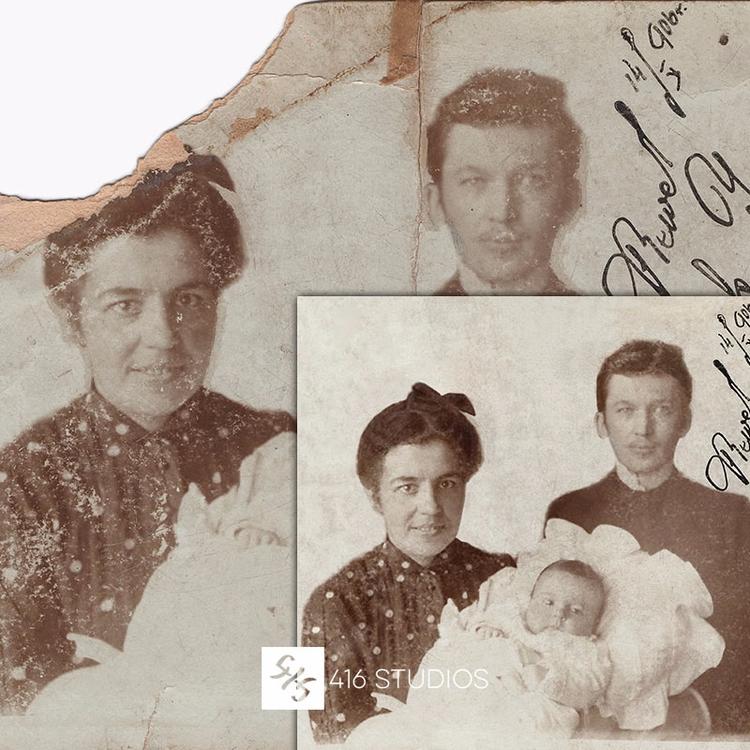working photo restoration 1906 - gocha | ello