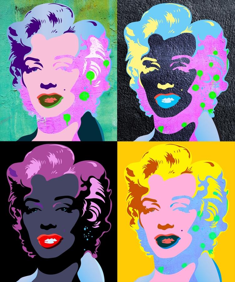 Marilyn Wall Collection N3-4-5 - sandromartini | ello