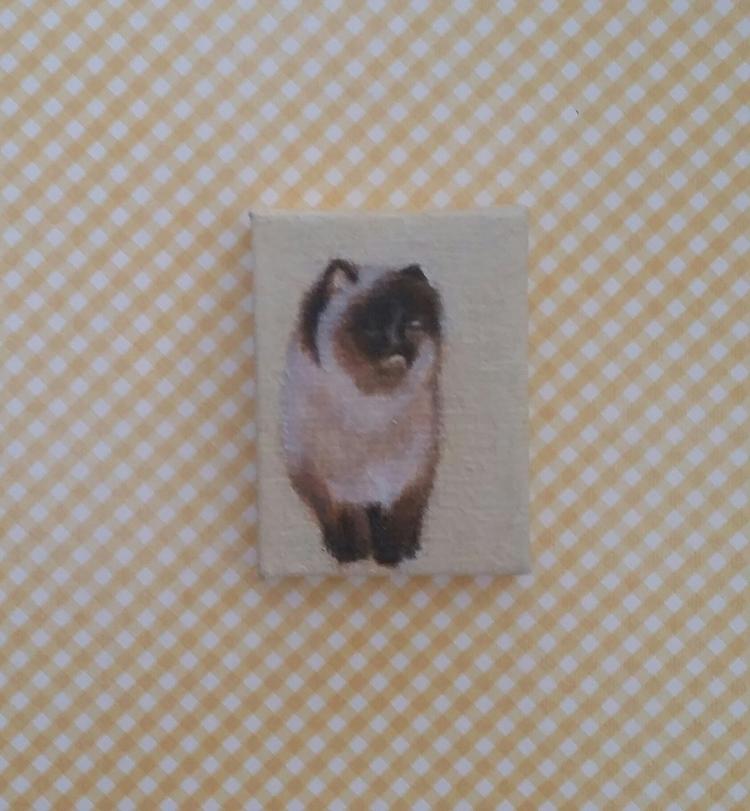 miniature oil painting 1.5x 2 N - nora_ | ello