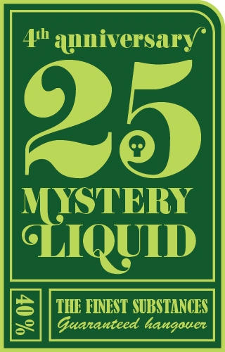 Mystery Liquid label - design, graphicdesign - vinkea | ello