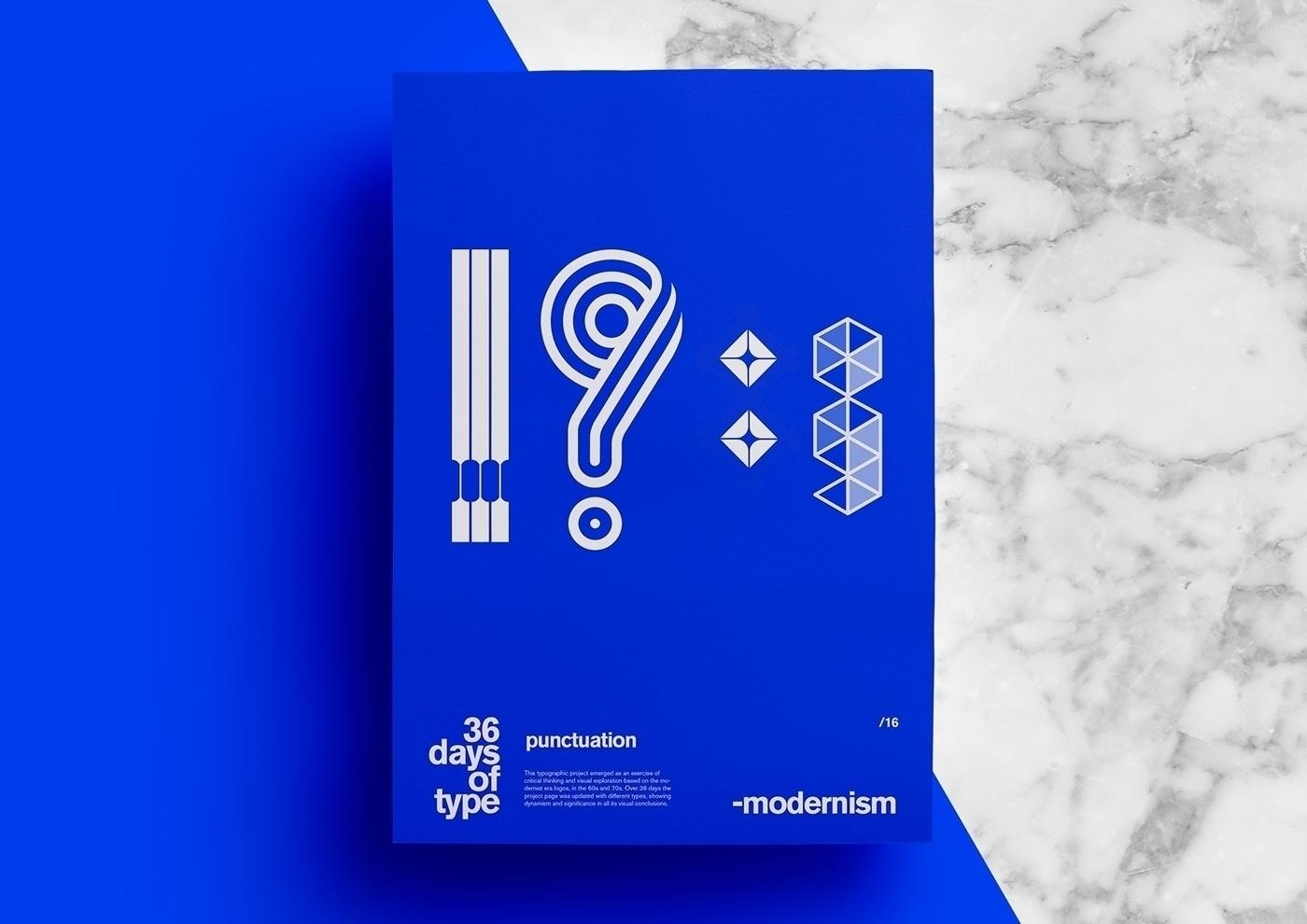 36daysoftype. modernism - Branding - msiqueiraf | ello