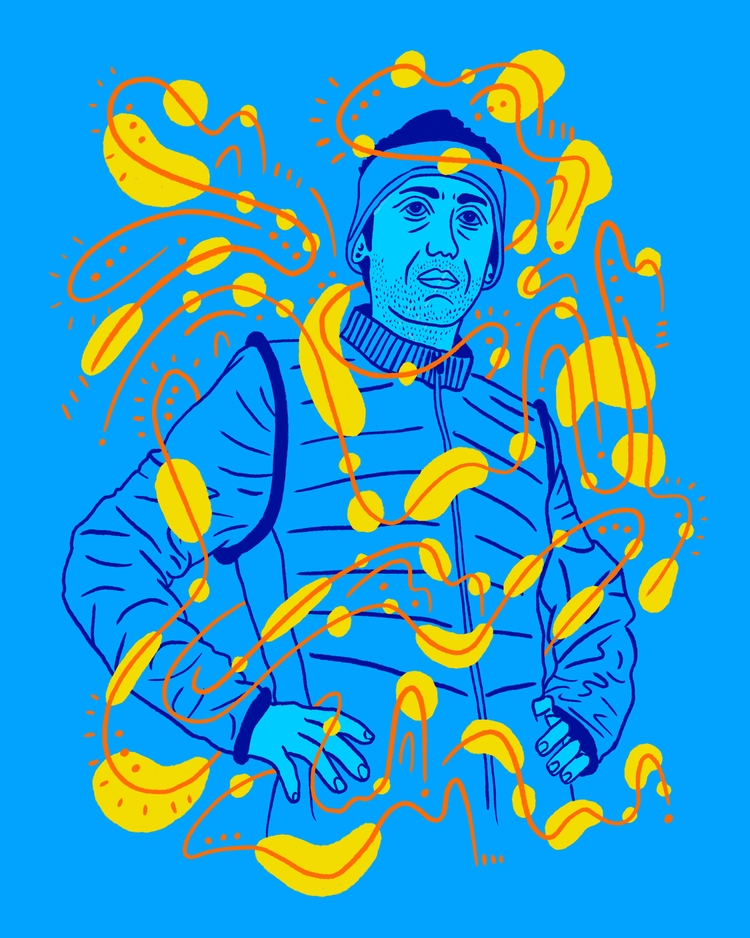 Super Runner - illustration, illustrator - heybop   ello