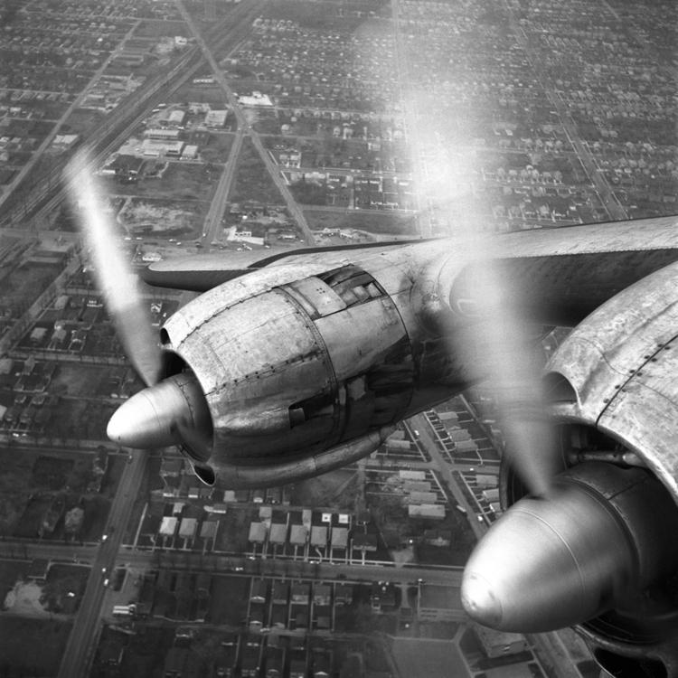 airplane window 1957 Twin prope - nickdewolfphotoarchive   ello