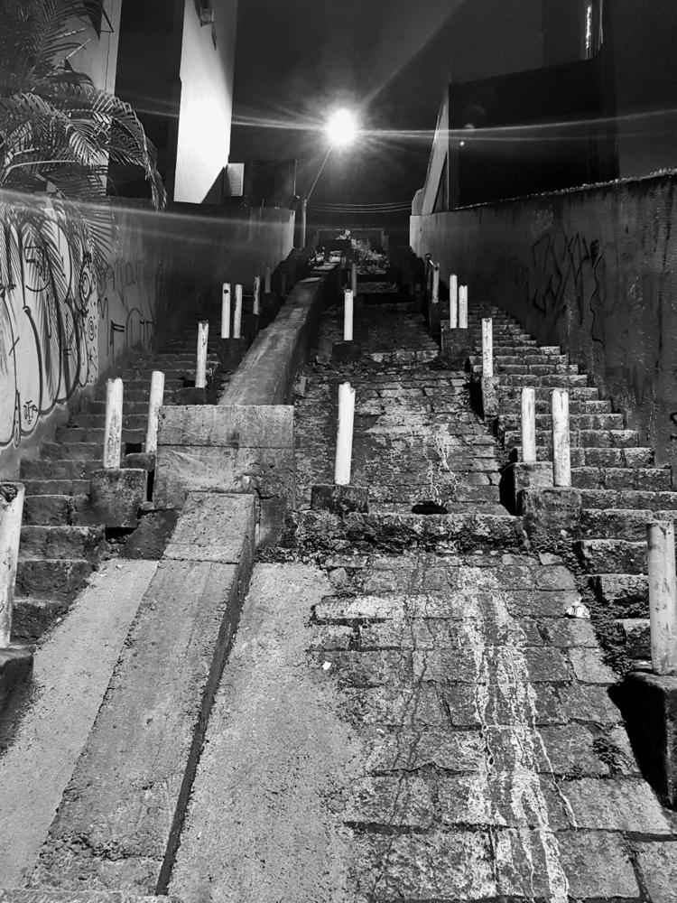 250  - urban, street, stairs, city - leonardofrey | ello