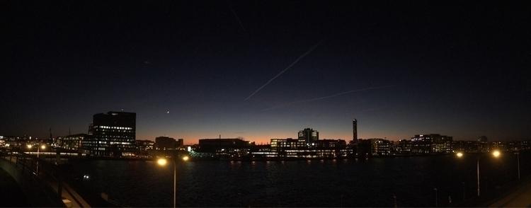 Malmö - panorama, sunset - jolt | ello