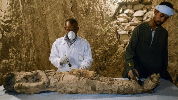 Egipto: Hallan momia artefactos - codigooculto | ello