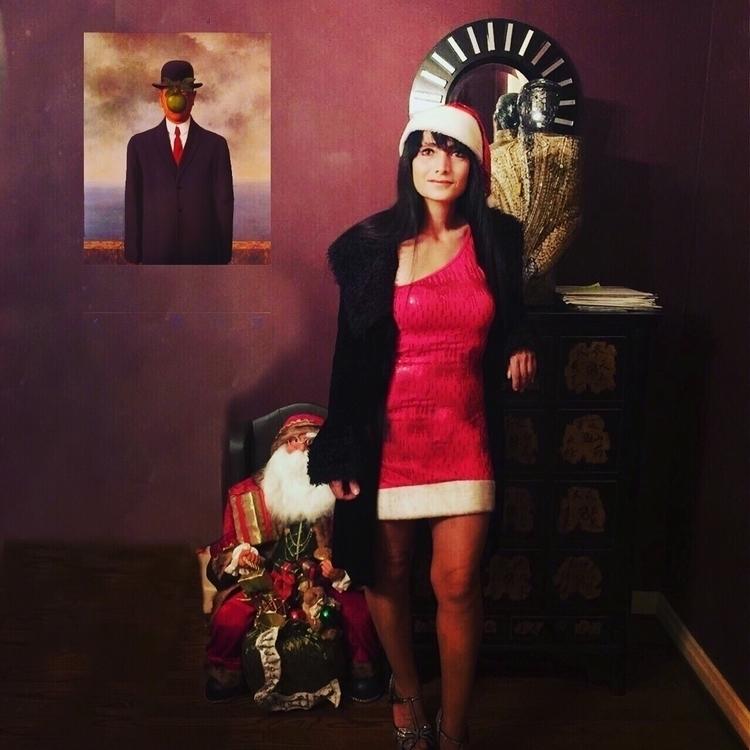 Christmas - magritte, mrschristmas - stephenjhsmith | ello